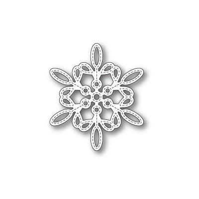 Die Memory Box - Purslane Snowflake Outline