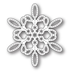 Die Memory Box - Purslane Snowflake Outline