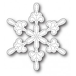 Die Memory Box - Chancery Snowflake Outline
