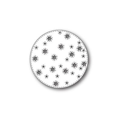 Die Memory Box - Stitched Snowflake Circle