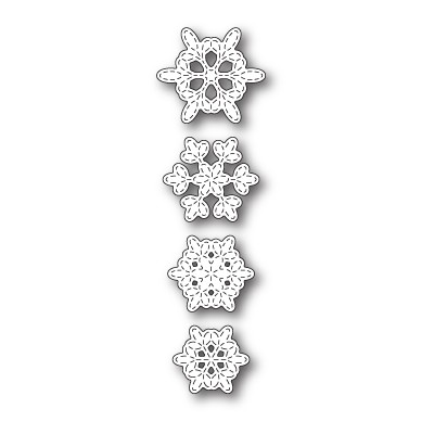 Die Memory Box - Batavia Stitched Snowflakes
