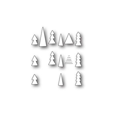 Die Memory Box - Tiny Tree Triplet