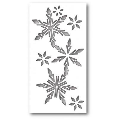 Die Memory Box - Tisdale Snowflake Collage