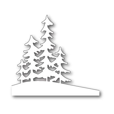 Die Memory Box - Alpine Trees