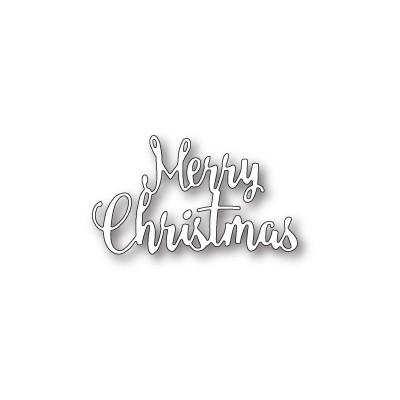 Die Memory Box - Brush Merry Christmas