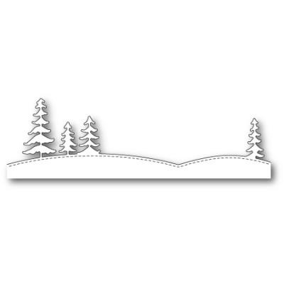 Die Memory Box - Stitched Tree Horizon