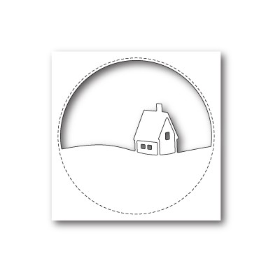 Die Memory Box - Stitched Circle Cabin