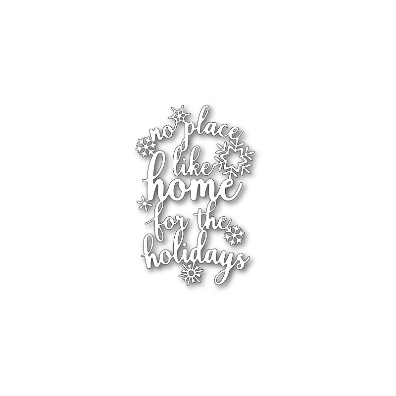 Die Memory Box - Home For The Holidays