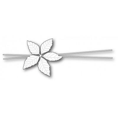 Die Memory Box - Decorative Poinsettia Trimming