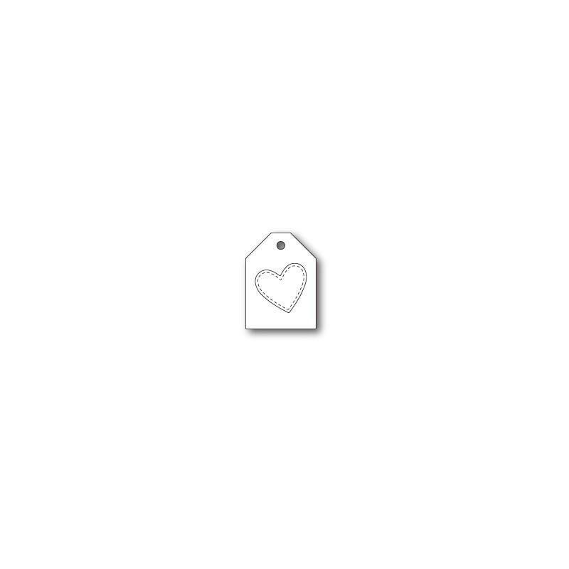 Die Poppystamps - Heart Taglet