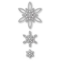 Die Poppystamps - Celeste Snowflakes