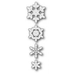 Die Poppystamps - Stitched Evangeline Snowflakes