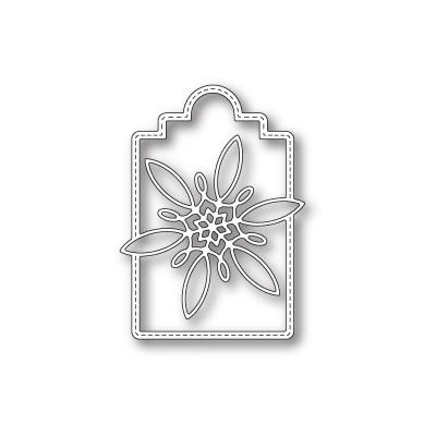 Die Poppystamps - Celeste Snowflake Tag