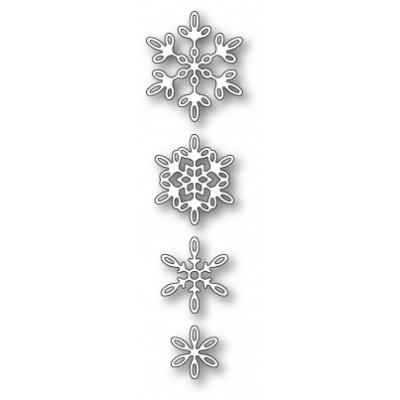 Die Poppystamps - Evangeline Snowflakes