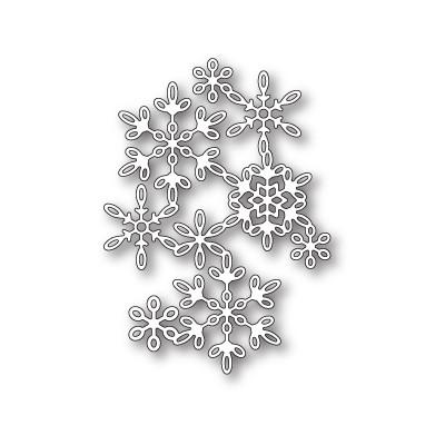 Die Poppystamps - Snowflake Screen