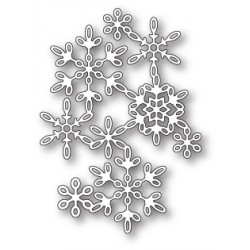 Die Poppystamps - Snowflake Screen