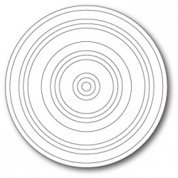 Die Poppystamps - Concentric Rings