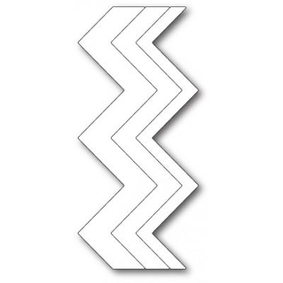 Die Poppystamps - Zig Zag Stripes