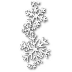Die Poppystamps - Stitched Alpine Snowflake Band