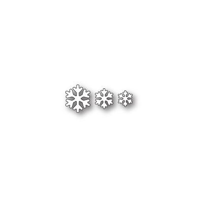 Die Poppystamps - Simple Snowflakes