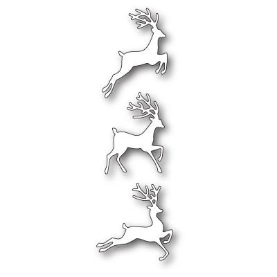 Die Poppystamps - Jumping Deer Trio