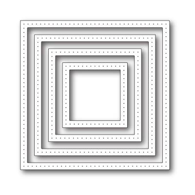 Die Poppystamps - Pointed Square Frames