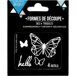 Dies Sweety Cuts - Capsules 2017 - Hello Butterfly
