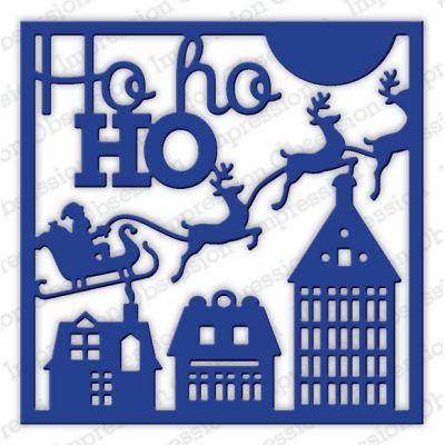 Die Impression Obsession - Ho Ho Ho Square