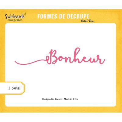 Dies Swirlcards - Bonheur