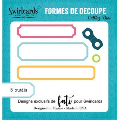 Dies Swirlcards - Petites étiquettes