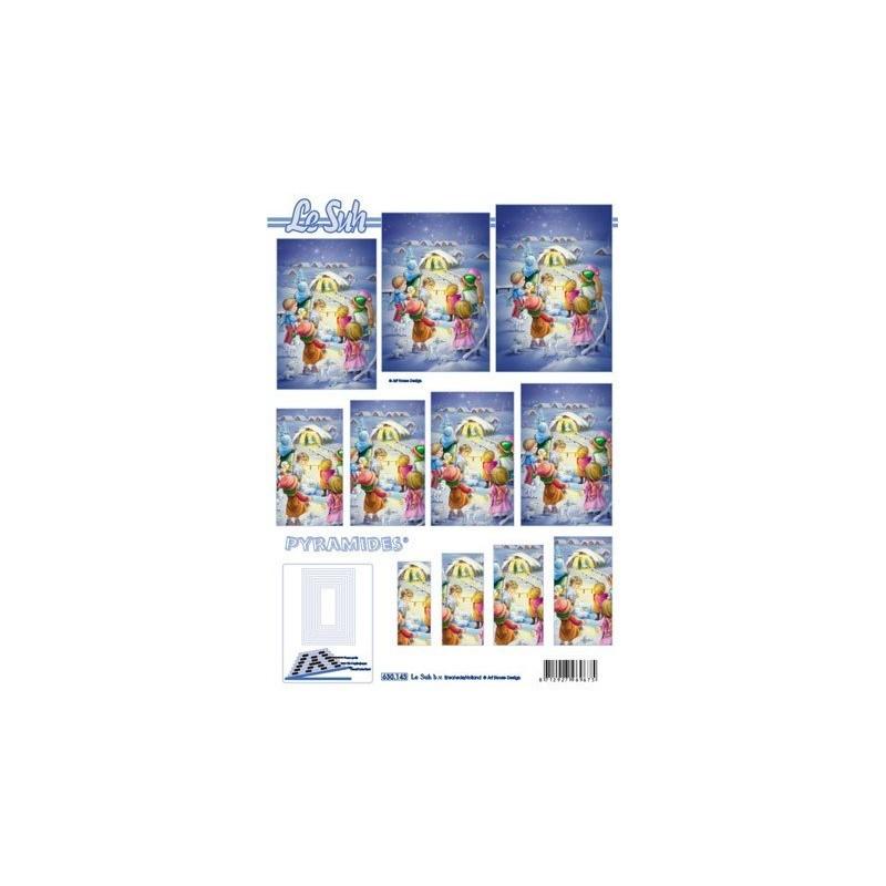Image Carterie 3D Pyramide - Crèche enfants