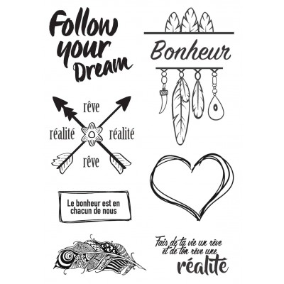 Tampons Lorelaï Design - Follow yours Dream