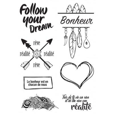 Tampons Lorelaï Design - Follow yours Dream