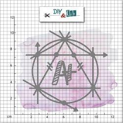 Dies DIY&Cie - Col. 9 - A+ en géométrie