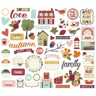 Die Cuts - Simple Stories - Vintage Blessings