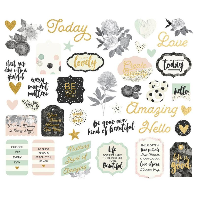 Die Cuts - Bits & Pieces - Beautiful
