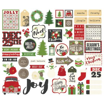 Die Cuts - Bits & Pieces - Very Merry