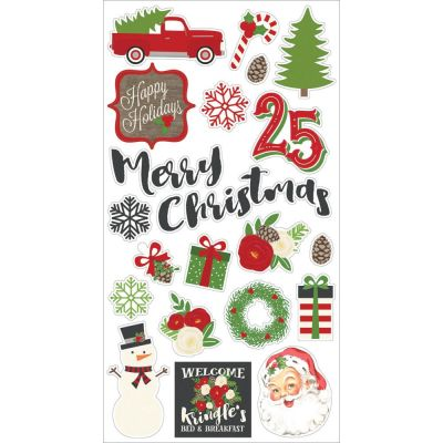 Stickers chipboards - Very Merry