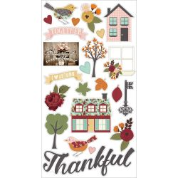 Stickers chipboards - Vintage Blessings