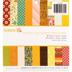 Mini Pack 15x15 - American Crafts - Farmhouse