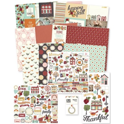Kit collector 30x30 - Simple Stories - Vintage Blessings