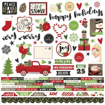 Stickers Combo - Verry Merry