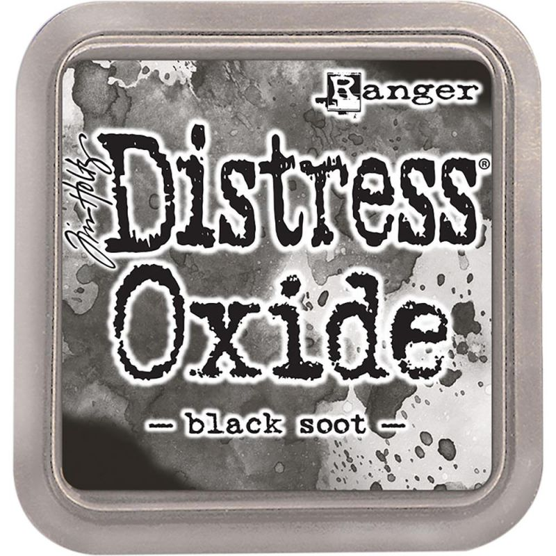 Encreur Distress Oxide - Black Soot