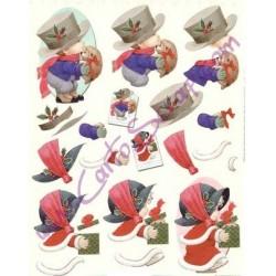 Image Carterie 3D - Un présent pour Noël