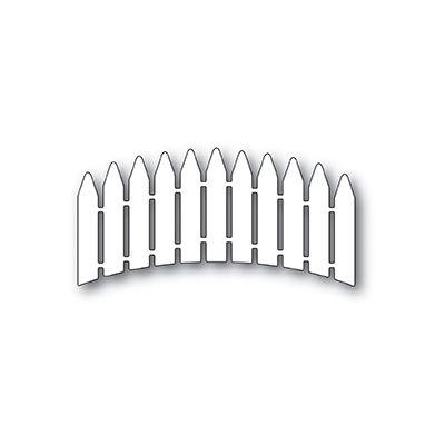 Die Memory Box - Curved Picket Fence