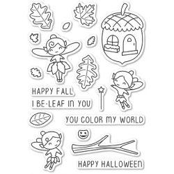 Tampons transparents Poppystamps - Autumn Fairies