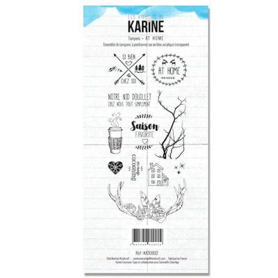 Tampons transparents Les Ateliers de Karine - At Home