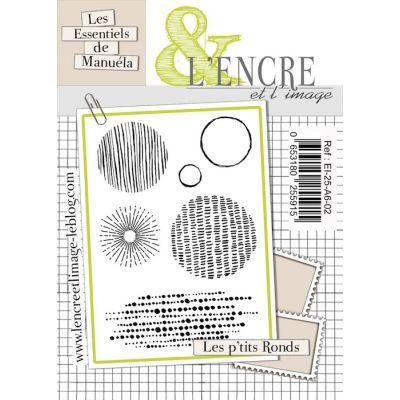 Tampons L'Encre & l'Image - Les Essentiels de Manuéla - Les p'tits ronds