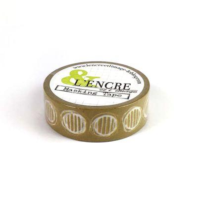 Masking Tape L'Encre & L'image - Pois rayés