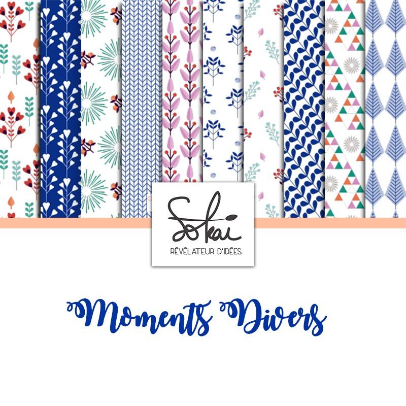 Pack 30x30 - Sokai - Moments Divers